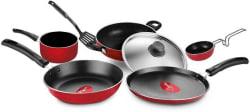 Pigeon Non Stick Favourite Gift Set Cookware Set Aluminium, 7 - Piece