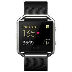 Fitbit Blaze Smart Fitness Watch Large (Black)