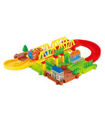 Webby S01 Puzzle Game Train Set