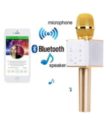 BUNNYTECH WS-858 Portable Wireless Bluetooth Karaoke Mic