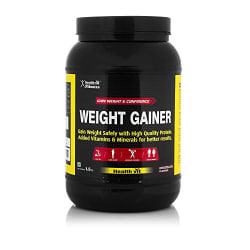 Healthvit Fitness Weight Gainer, Chocolate Flavour 1.5kg / 3.3 lbs