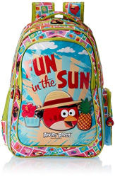 Angry Birds Green Children s Backpack (Age group :8-12 yrs)