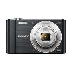 Sony DSC-W810 20.1MP Cyber-Shot Digital Camera (Black)
