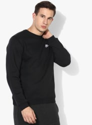 As Nsw Crw Flc Club Black Sweatshirt