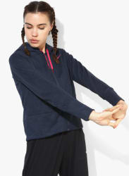 As Dry Fz Navy Blue Training Sweat Jacket