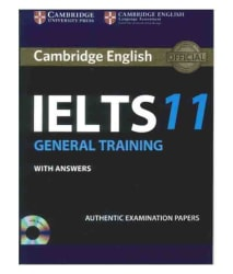 IELTS 11 (General Training) With Answers (Paperback) (English) Latest Edition