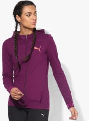 Urban Fz Purple Sweat Jacket