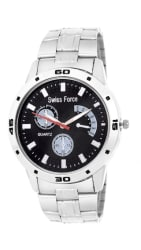 Swiss Force Stainless Steel Analog Watch