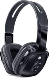 Iball Pulse-BT4 Headset with Mic (Black, Over the Ear) with bill & wrnty