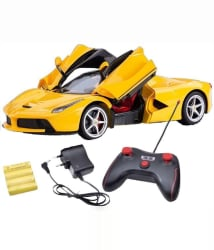 The Flyer s Bay Yellow Rechargeable Car