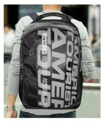 American Tourister Branded Backpacks Laptop Bags College Bags School bags Black