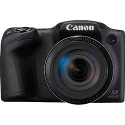Canon PowerShot SX430 Digital Camera (Black)