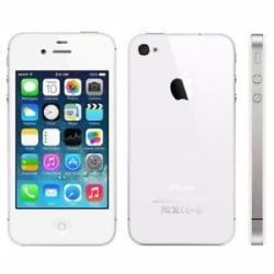 Apple iPhone 4s - 32 GB With 3 Month seller Warranty Refurbished Mobile ( WHITE)