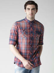 Multicoloured Regular Fit Casual Shirt