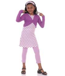 Bio Kid Celebrity - Purple Aop Combo - 4 Pcs Set