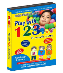 Play with 123 License/Redemption Code - physical CD/DVD