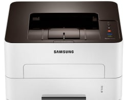 Samsung SL-M2826ND Single Function Laser Printer, white