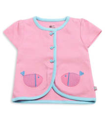 FS MiniKlub Girl s Front Open Vest-Pink