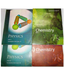 NCERT SET OF BOOKS FOR CLASS 11 FOR CLASS PHYSICS (1&2), CHEMISTRY (1&2)
