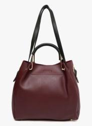 Maroon (Pu) Handbag