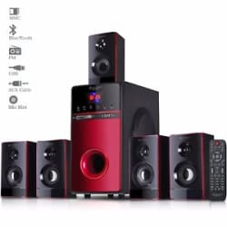 Truvison SE-7777 Multimedia System USB FM AUX MMC Speaker Refurbished +Warranty