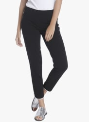 Black Solid Coloured Pant