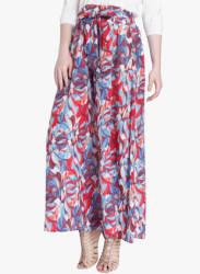 Multicoloured Flared Skirt