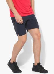 Speeknwv Navy Blue Training Shorts