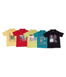 lilly toon multicolour polo tshirt pack of 5