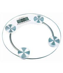 CHILLAXPLUS Glass Bathroom Weighing Scales Weighing Capacity - 180 Kg