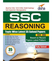 SSC Reasoning Topic-wise LATEST 35 Solved Papers (2010-2016)