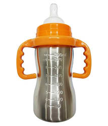 MEE&MOMMY Feeding Bottle 290ml (WITH EXTRA SIPPER )COLOUR MAY VARY