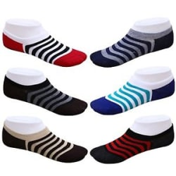 Unisex Loafer Invisible No Show Liner Low Cut Cotton Boat Socks