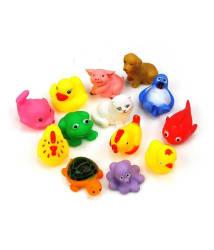 Kuhu Creations Bath Toys Set of 12pcs