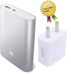Details about Xiaoomi mi 10400 mAh Power Bank for all phones