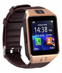 ARISEN dz09 bluetooth Wrist Smart Watch (Watch Smart) Phone With Camera & tf, Sim Card Support - iOS & Android Watch