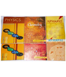 NCERT SET OF BOOKS FOR PHYSICS (1&2), CHEMISTRY (1&2) AND MATHEMATICS (1&2) FOR CLASS 12