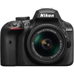 Nikon D3400 24.2 MP Digital SLR Camera (Black)