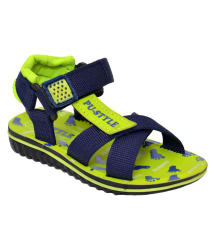 Bunnies Footwear Mouse Blue Light Weight Kids Casual Sandal