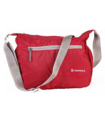 Nylon Cross Body Unisex Sling Bag (Red)