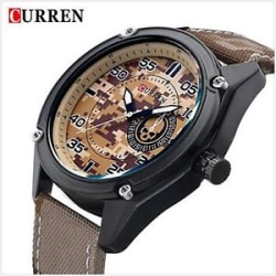 New Stylish Sporty look CURREN Black Dial Analog Wrist Watch for boys & Men