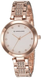 Giordano Analog White Dial Women s Watch - A2037-33