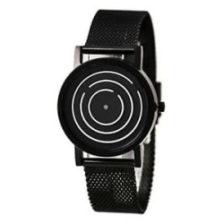 2018 new Unique Design Black Color Dial Antique Time Concept Mens Wrist Watch !!