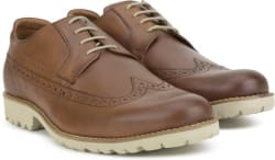 LP Louis Philippe LYBCL27717 Corporate Casuals For Men Brown