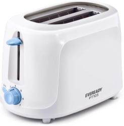 Eveready PT 103 700 W Pop Up Toaster White