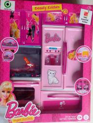Barbie Beauty Vogue Kitchen Set for kids (Multicolor)