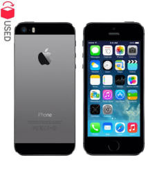 CERTIFIED USED Apple iPhone 5s ( 16GB , Space Grey , 1 GB , 6 Month Seller Warranty )