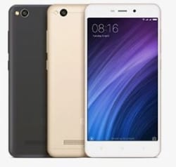 Manufacturer Refurbished Xiaomi Redmi 4A Duos (Mix Color, 16GB 2GB) 13MP 5MP