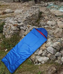 BS Spy 4-In-1 Reversible Dual Tone Sleeping Bag Cum Quilt Can Be Used As Quilt (100 % Original)