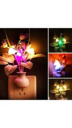 Light Sensor Color Changing Mushroom Night Lamp
